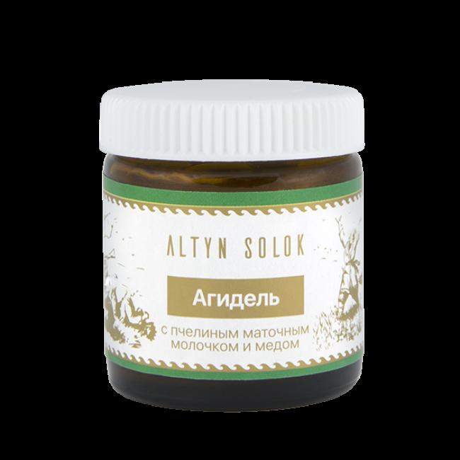 Крем Агидель с пчелиным маточным молочком и медом, 30 мл