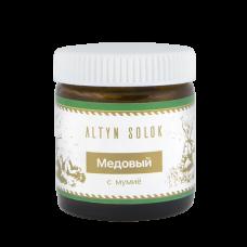 Лечебный крем Медовый против угревой сыпи и микротрещин
