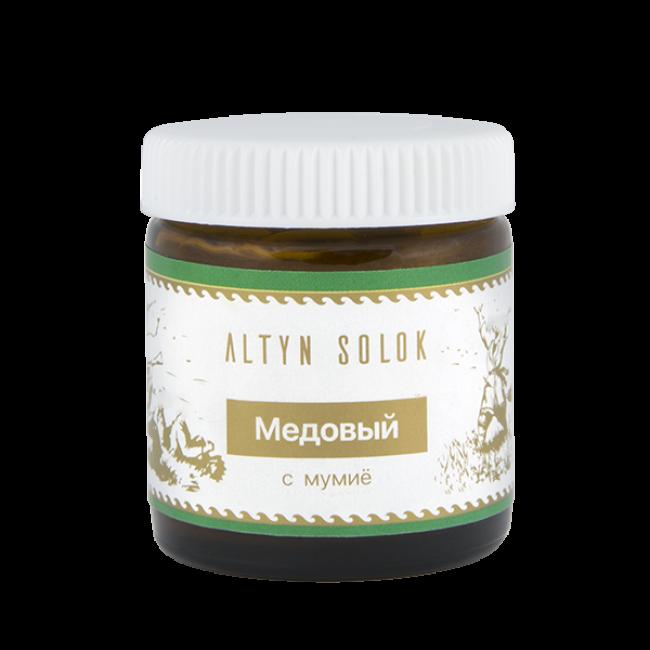 Лечебный крем Медовый с мумиё, 30 мл