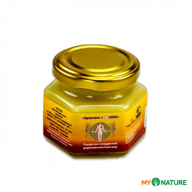 Сердечно-сосудистый двухкомпонентный мед, 130 г