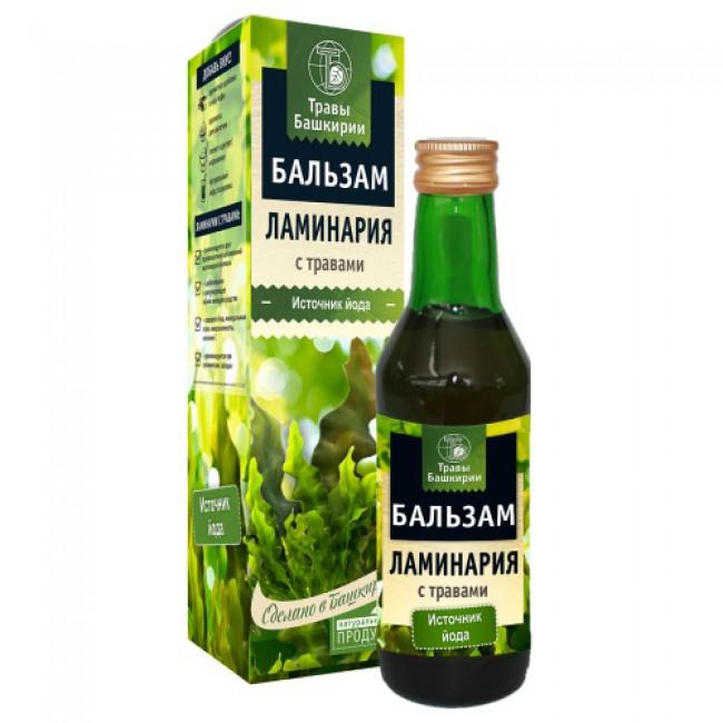 Купить безалкогольный бальзам Ламинария с травами с доставкой по России и в Салавате