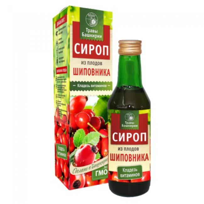 Купить Сироп из плодов шиповника