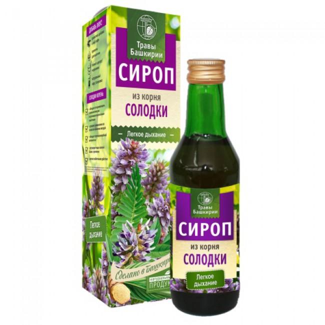 Купить сироп из корня солодки с доставкой по России и в Салавате