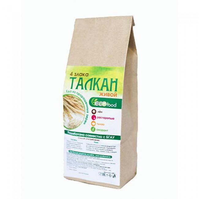 Купить Талкан 4 злака с добавками с доставкой в Салавате и России - экомагазин My Nature