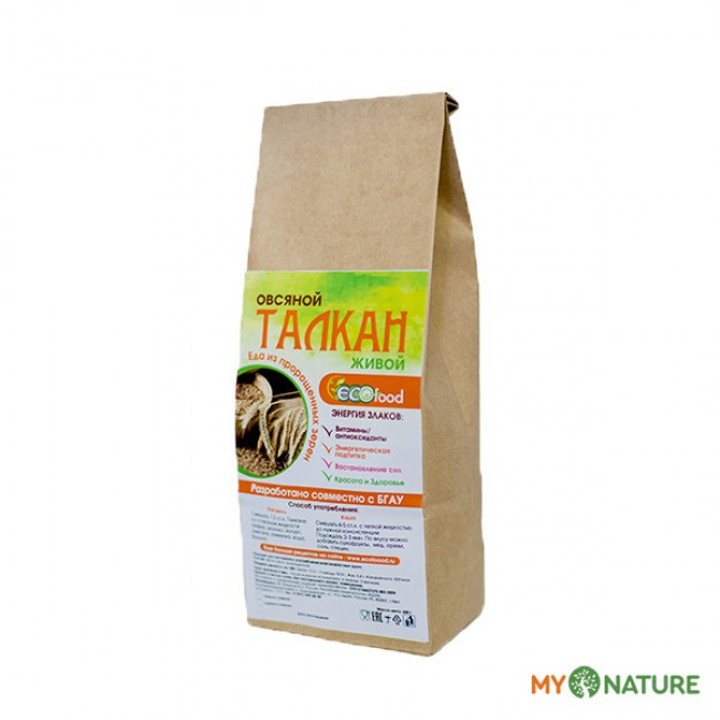Купить Талкан овсяной с доставкой в Салавате и России - экомагазин My Nature
