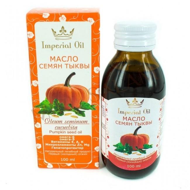 Масло семян тыквы Imperial Oil, 100 мл