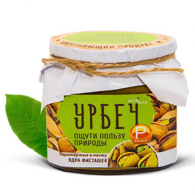 Купить Ореховая паста (урбеч) Ядра фисташек с доставкой в Салавате и России - эко-магазин My Nature