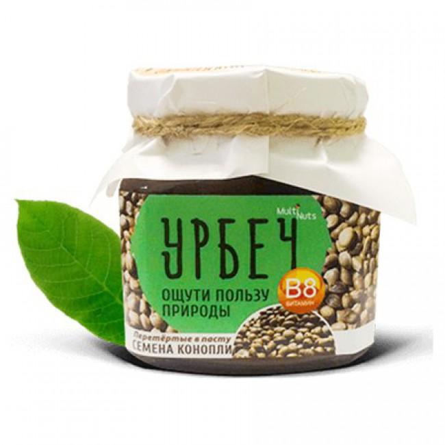 Ореховая паста (урбеч) Семена конопли купить с доставкой в Салавате и России - My Nature