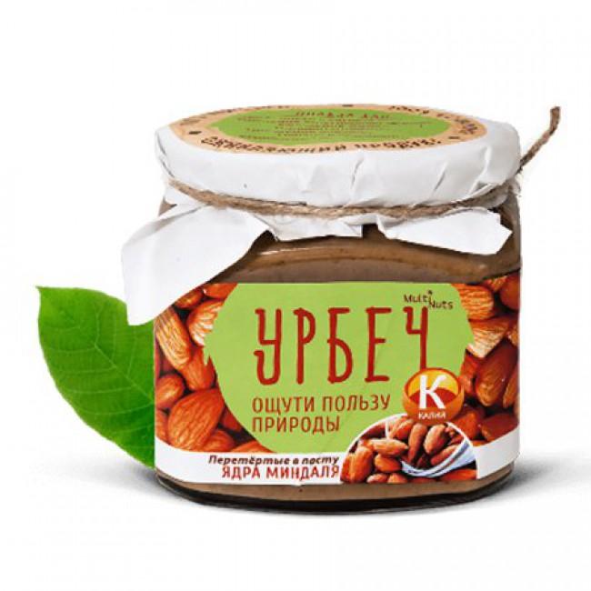 Купить Ореховая паста (урбеч) Ядра миндаля с доставкой в Салавате и России - эко-магазин My Nature