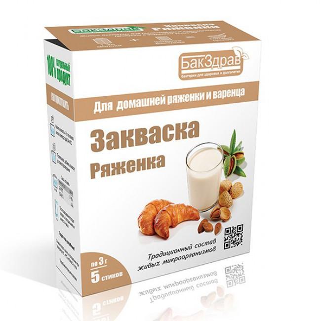 Купить Закваску Ряженка с доставкой в Салавате и России - экомагазин  My Nature