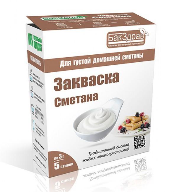 Купить Закваску Сметана с доставкой в Салавате и России - экомагазин My Nature