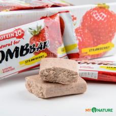 Батончик протеиновый Bombbar клубника, 60 г